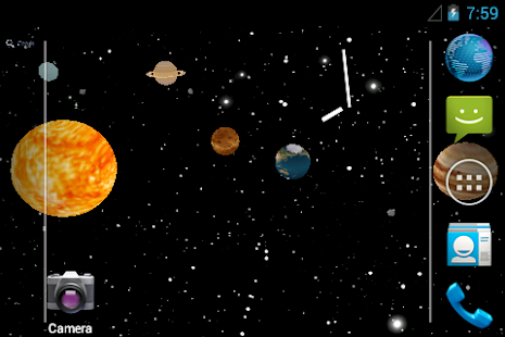 Sun system - screenshot