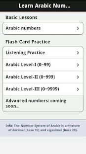 Learn Arabic Numbers (Pro) - screenshot