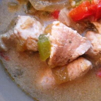 Paleo Creamy Chicken Chili
