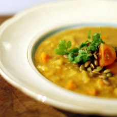 Indian Vegetable Lentil Soup