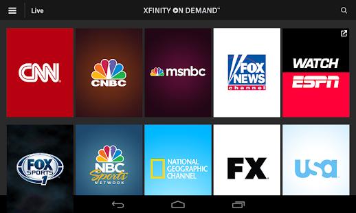XFINITY TV Go- screenshot thumbnail