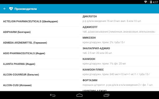 MedBox — Справочник лекарств - screenshot