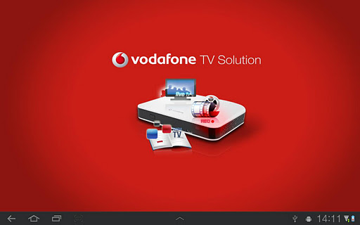 Vodafone TV Solution Tablet for PC