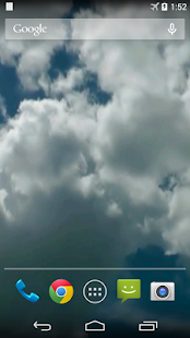 Clouds Video Live Wallpaper - screenshot