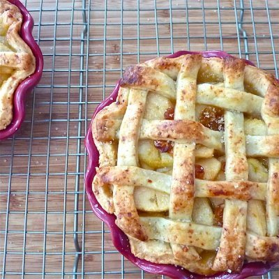 Brown Butter Apple Pie with Cheddar Crust
