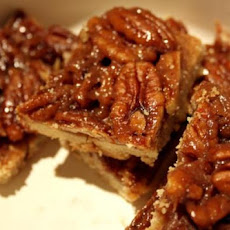 Pecan and Honey Bars