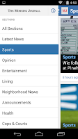 Screenshot of Morning Journal for Android