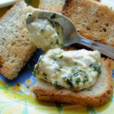 White Bean Dip With Basil Oil