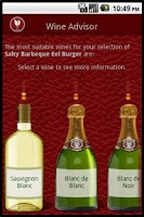 Screenshot of Wino the Wine Advisor Pro