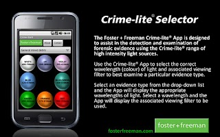 Screenshot of Crime-lite Selector
