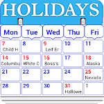 Holiday Calendar Free 1.5 Apk