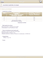 Screenshot of SMARTfiches Oncologie Free