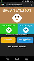 Screenshot of Eyes Color Calculator