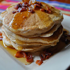 Apple Bacon Pancakes