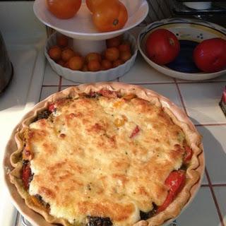 Tomato Basil Pie Mozzarella Recipes