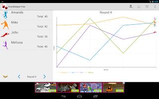 Screenshot of Score Keeper Free