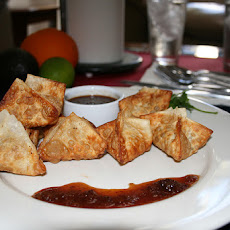 Cranberry-Crab Rangoon