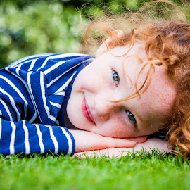 lazy summer by Sheena True - Babies & Children Child Portraits