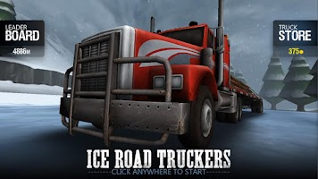 Screenshot of Ice Road Truckers