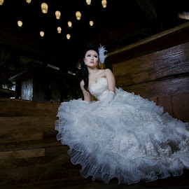 Beauty Bride by Amin Basyir Supatra - Wedding Bride ( beaty, love, bali, elegant, wedding, bride )