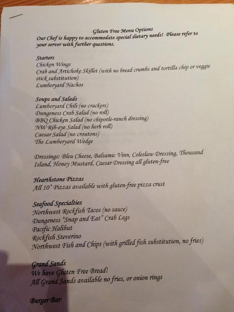 Use both the regular menu and gf menu to order