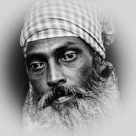 Faqir by Prasanta Das - People Portraits of Men ( muslim, faqir, portrait )