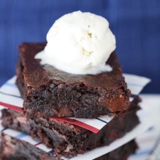 Ice Cream Sundae Brownies