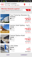 Screenshot of HotelClub: Hotel Reservations