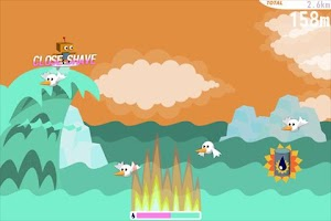 Screenshot of Robo Surf
