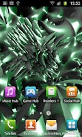 Screenshot of Chaos 3D Free Live Wallpaper