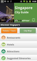 Screenshot of Singapore City Guide