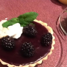 Blackberry Pudding Tarts