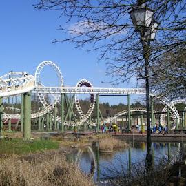 Roller coaster by Milan Havíř - News & Events Entertainment ( roller coaster, germany, hamburg, entertainment )