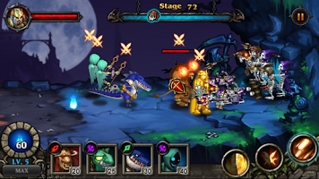 Screenshot of Hero Defense : Kill Undead