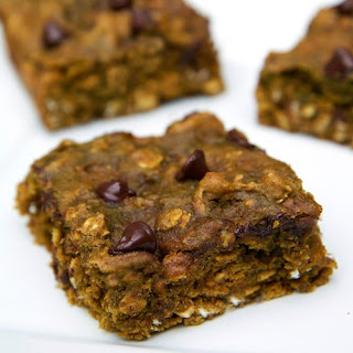 Chocolate Chip Pumpkin Protein Bars