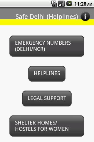 Delhi Helplines