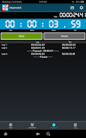 Screenshot of Timers4Me - Timer & Stopwatch