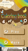 Screenshot of Rainbow Coloring book for kids