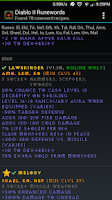 Screenshot of Diablo 2 Runewords