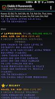 Screenshot of Diablo 2 Runewords