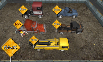 Screenshot of Crazy Parking Truck King 3D