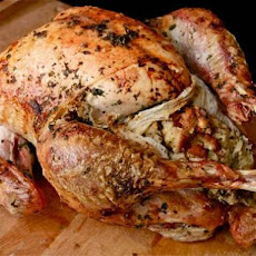 Easy Stuffed Roast Turkey With Giblet Gravy