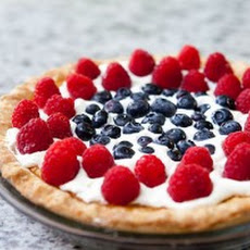 Fourth of July Buttermilk Pie