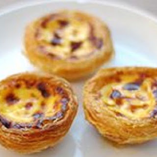 Baked Custard Tart Puff Pastry Recipes