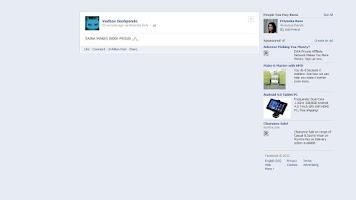 Screenshot of via Motorola Defy