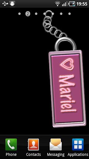 Mariel Name Tag