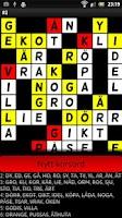 Screenshot of Crossword Puzzle Fill in Demo