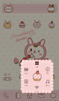 Screenshot of Strawberry BboBbo dodol theme