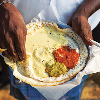 Dosas (South Indian Fermented Lentil and Rice Crêpes)