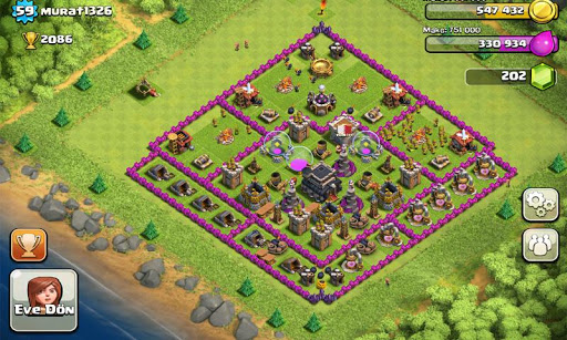 clash-of-clans for android screenshot